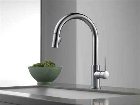 delta white kitchen faucets delta 9159 ar dst trinsic single handle pull kitchen