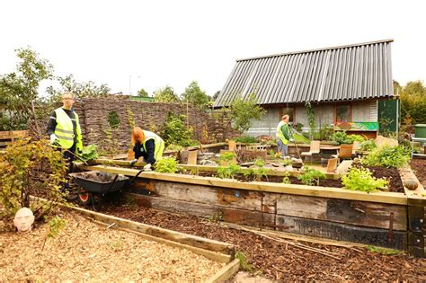 Garden Of Commune Community Garden The Brick Building