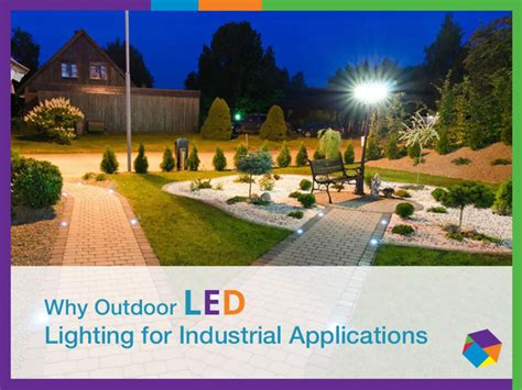 landscape lighting ppt benefits of industrial outdoor led lighting solutions authorstream