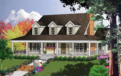 farmhouse plans with wrap around porch porches galore 7410rd 1st floor master suite bonus room cad available country farmhouse