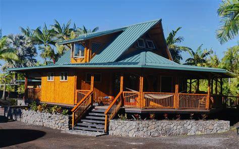 kapoho house a polynesian bamboo home in kapoho hawaii vrbo