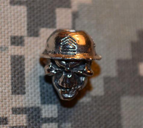 skull for paracord master sergeant skull bead camo badazzbeads