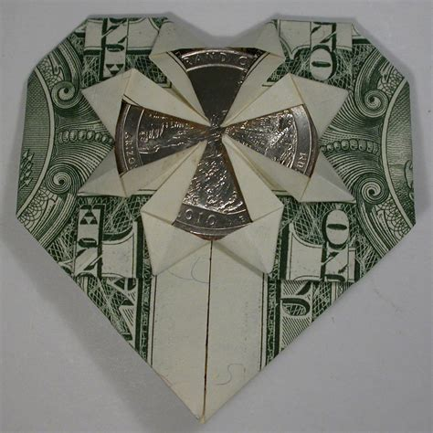 money origami with quarter dollar bill origami quarter images