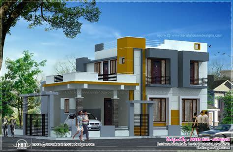 contemporary homes designs contemporary 2100 square home design home kerala plans
