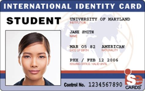 how to make a student id card international student identity id cards