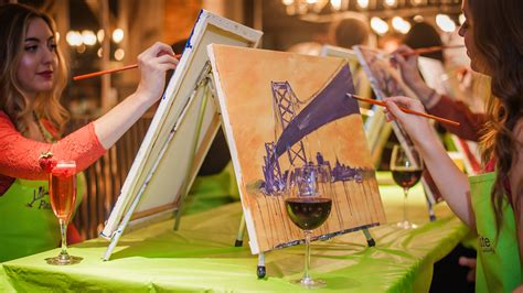 paint nite napa painting sipping and selling wine news news