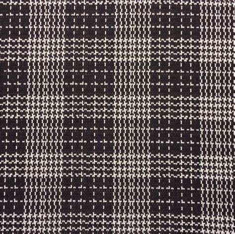 black and white knit fabric knit fabric plaid knit black and white plaid