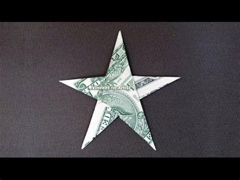 how to make an origami starfish money origami dollar bill