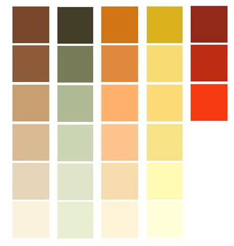 paint colors tones color palettes for a prairie style room the are