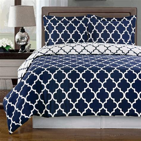 navy bedding meridian navy reversible cotton comforter set free shipping