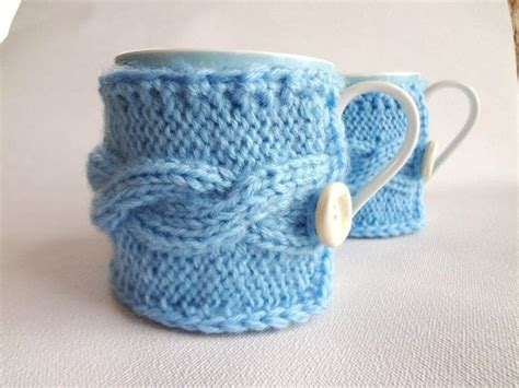 Knitted Mug Warmer 183 A Mug Warmer 183 Version By Evenl