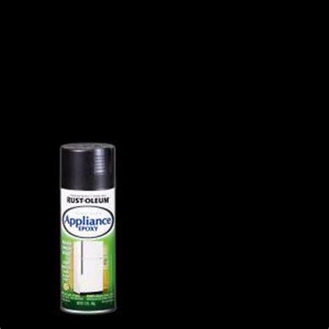 home depot spray paint black rust oleum specialty 12 oz appliance epoxy gloss black