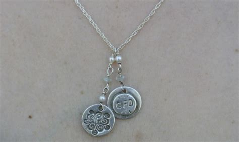 how to make silver clay jewelry fearless silver polymer clay jewelry a necklace
