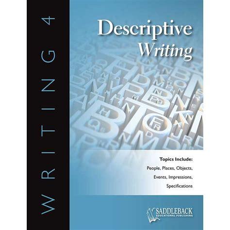 descriptive picture books descriptive writing reproducible book with cd sdl0245