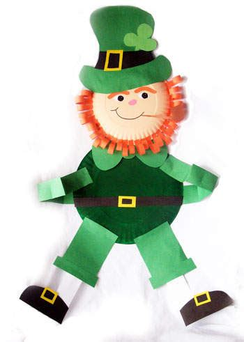 leprechaun craft for sassy st s day crafts for