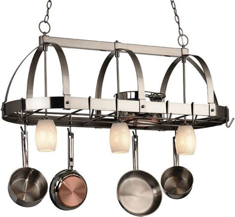 kitchen light pot rack 17 best images about pot racks on contemporary