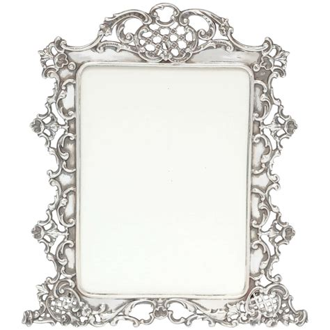 picture frame beautiful all sterling silver picture frame at 1stdibs