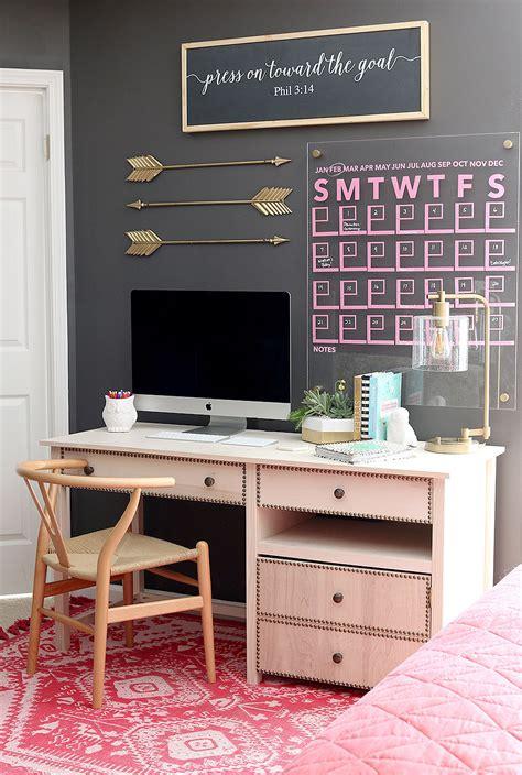 how to make office desk diy desk with printer cabinet