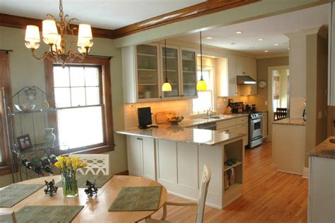 dining room in kitchen design an open kitchen dining room design in a traditional home