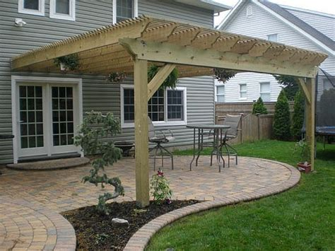 pictures of pergola 25 best ideas about pergola attached to house on