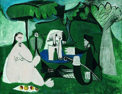 picasso paintings description tempo di picnic 10 capolavori nella storia dell arte fito