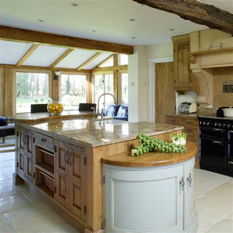 large open plan country kitchen kitchens kitchen ideas image ideal home