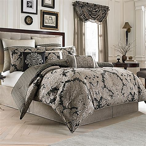 king bed comforters sets croscill 174 augusta reversible comforter set bed bath beyond