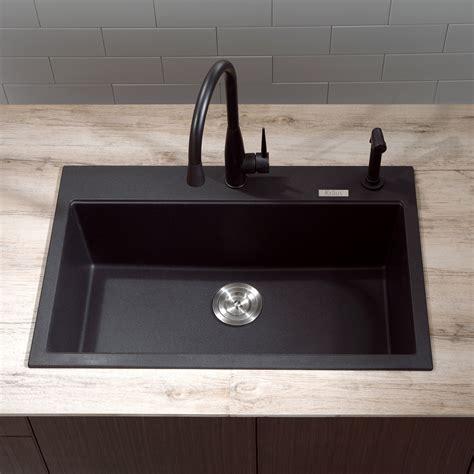granite kitchen sink black composite granite kitchen sink interior exterior