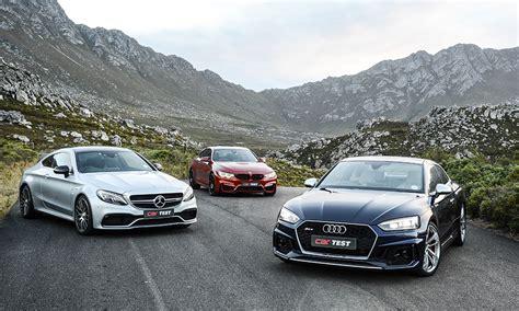 Mercedes Vs Bmw Vs Audi by Audi Rs5 Coup 233 Vs Bmw M4 Cp Vs Amg C63 S Coup 233 Car