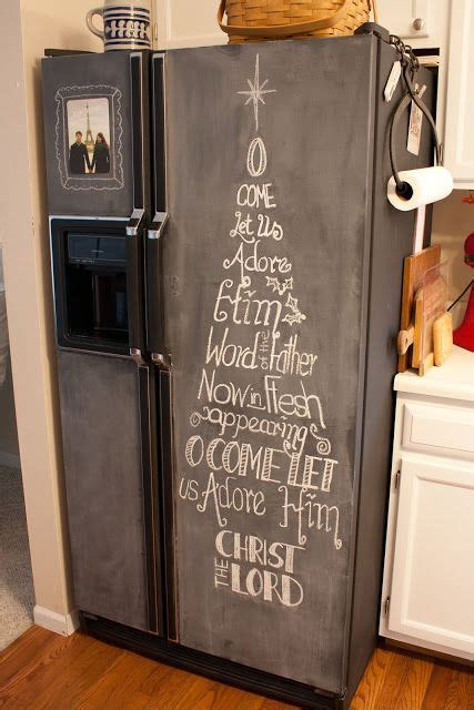 chalkboard painting refrigerator 1000 ideas about chalkboard fridge on