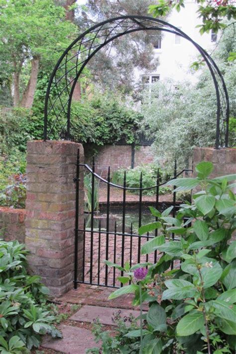Garden Arch Gate Uk Garden Gate With Arch In Maida Vale Ironart Of Bath