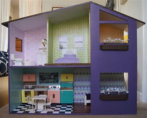 the doll house sutton grace mod doll house plans
