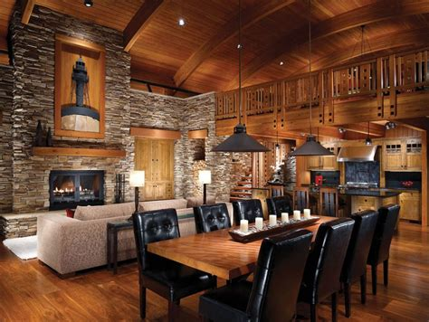 modern log home interiors log cabin interiors for the most comfortable log cabin at home homestylediary