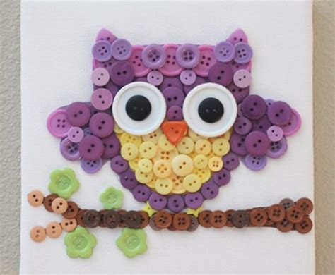 creative and craft ideas for 15 button crafts for inhabitots