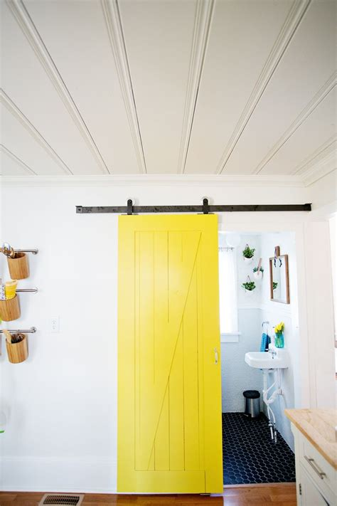 puerta granero zona sur sliding door solution for small spaces a beautiful mess