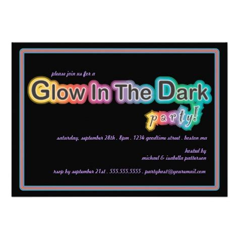 glow in the paint cape town glow in the blacklight invitation 5 quot x 7