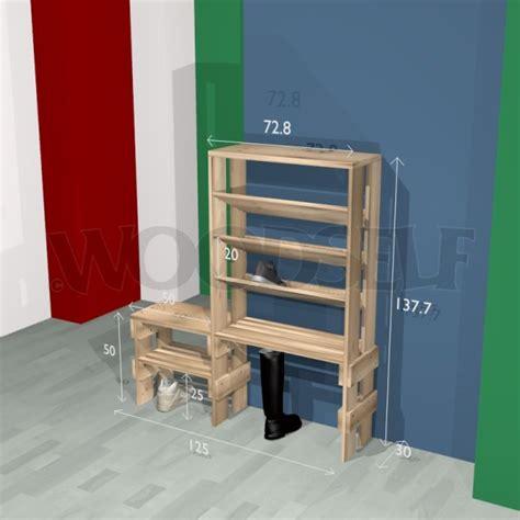 fabriquer un meuble chaussure en bois