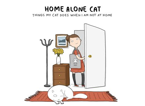 ce que fais mon chat quand je ne suis pas 224 la maison dessein de dessin