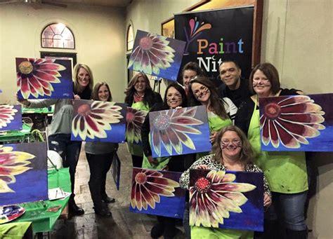 paint nite bindu bindu the ox the pied piper of paint nite living
