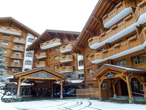 chalet royalp hotel spa in villars in the swiss alps