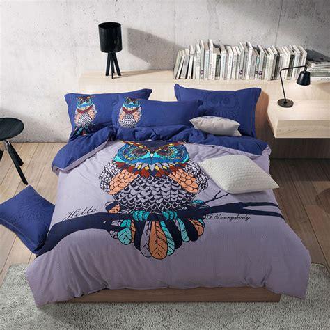 owl bedding set get cheap owl comforter aliexpress