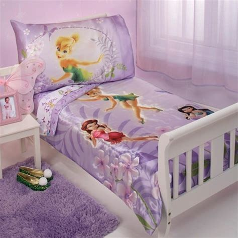 tinkerbell toddler bed set tinkerbell 4pc toddler bedding set aubree karmen bed