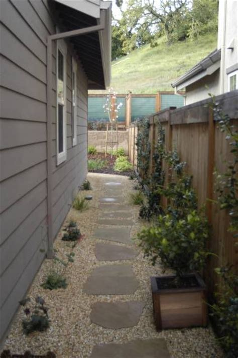 garden ideas for side of house landscaping narrow side yard ideas for the house