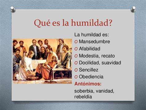 vanidad antonimo la humildad