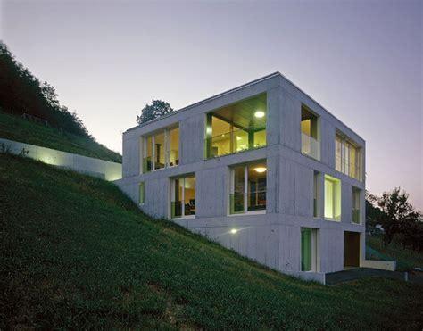 Sloped Lot House Plans create contemporary concrete houses decoration ideas
