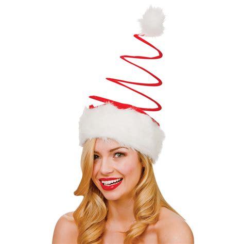 large santa hats adults large spiral santa hat fancy dress