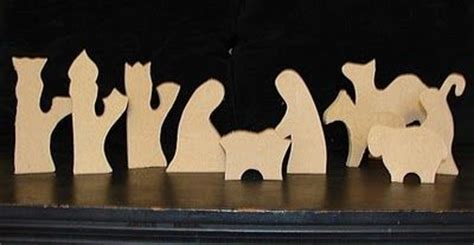 nativity silhouette woodworking patterns free wood pattern for nativity woodworking projects plans