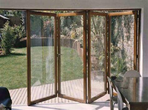 folding sliding patio doors folding sliding glass doors folding garage doors wood