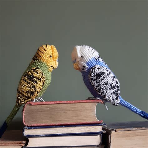 free bird knitting patterns knit for victory knitted budgies