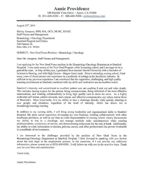 oncology nurse resume cover letter resumes design